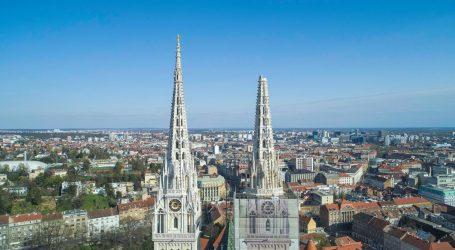 Oštećen i sjeverni toranj zagrebačke katedrale, uklonit će ga dizalicama
