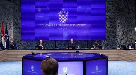 """VIDEO: SJEDNICA VLADE: Plenković: """"Očekujemo pad BDP-a od 9,4 posto"""""""