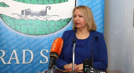 SISAK Uz paket mjera za pomoć građanima smanjene i plaće gradonačelnice i zamjenika za 20 posto