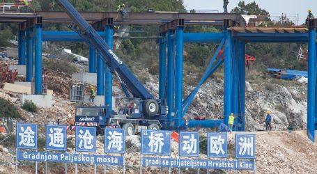 BEZ OBZIRA NA KORONAVIRUS: Radovi na Pelješkom mostu i pristupnim cestama u punom zamahu