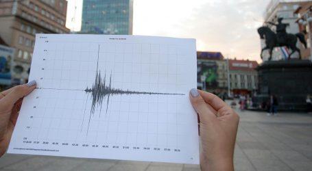 Novi manji potres u Zagrebu