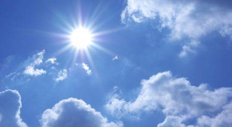 DHMZ: Pretežno sunčano i povoljno vrijeme