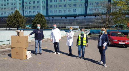 POHVALNO: Rotarijanci Hrvatske ujedinjeni u borbi protiv koronavirusa donirali medicinarima zaštitne vizire