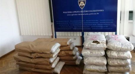 Policija kod Makarske zaplijenila 200 kilograma marihuane