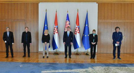 Predsjednik Milanović primio izaslanstvo Hrvatske zajednice samostalnih umjetnika
