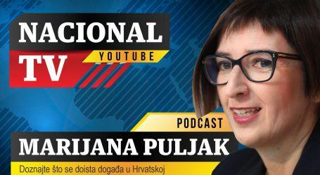 Nacional TV Podcast #3 Marijana Puljak: 'Zbog političkog uhljebizma su ugroženi ljudski životi'