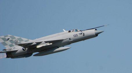 MORH: Moguće probijanje zvučnog zida u sklopu redovne letačke aktivnosti vojne eskadrile