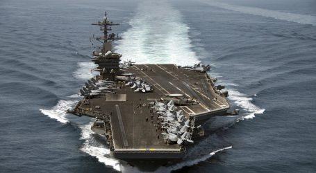 Američka mornarica želi natrag smijenjenog kapetana nosača Roosevelt