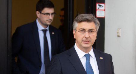 """Plenković: """"Bernardićeva izjava je promašena"""""""