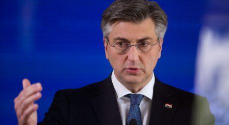 """Plenković: """"Pripremamo prijedloge za gospodarsku reaktivaciju"""""""