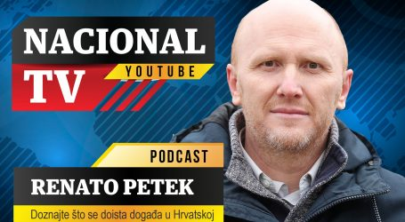 "Nacional TV Podcast #4 Renato Petek: ""Potres je ogolio rad i djelovanje Milana Bandića"""