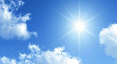 DHMZ: Očekuje nas razmjerno toplo i sunčano vrijeme