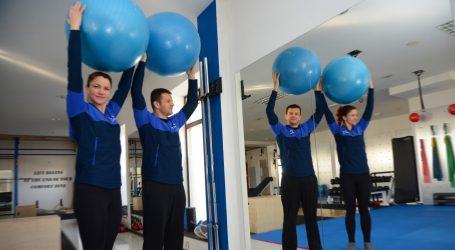 Vježbe za ozlijeđena ramena i leđa