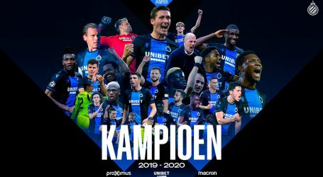 Službeno: Belgijska liga okončana, Club Brugge prvak