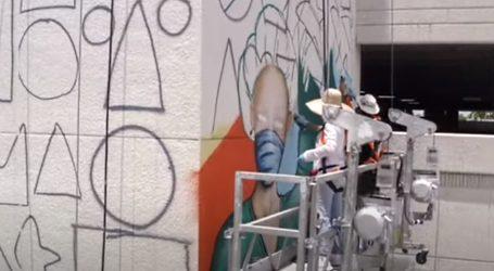 Veliki mural za medicinske djelatnike u Miamiju
