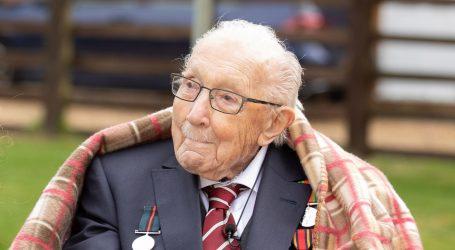 PRIKUPIO MILIJUNE ZA ZDRAVSTVO: Britanski veteran Tom Moore postat će vitez