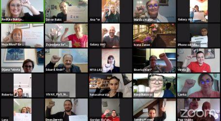 S internet prosvjeda sindikata 'Radnicima hvala, ali prvo prava' upućeni zahtjevi Vladi