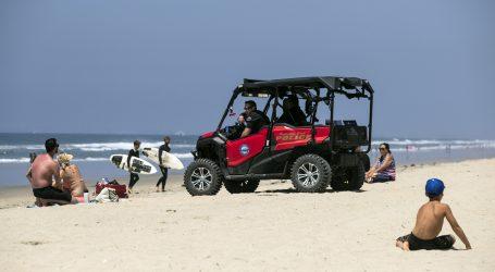 Toplije vrijeme izvuklo Amerikance na plaže i u parkove
