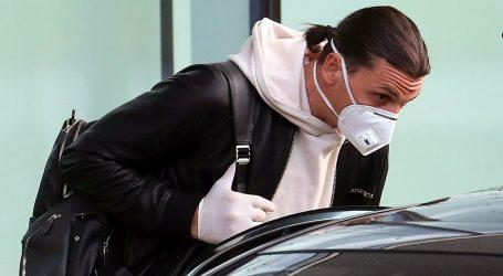 Ibrahimović ozlijeđen na treningu Milana, čekaju se liječnički nalazi