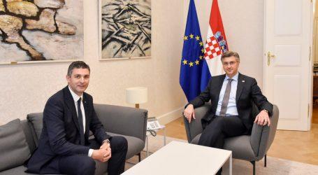 Plenković i Franković razgovarali o turizmu i prometu na dubrovačkom području