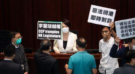 Stotine prosvjeduju u Hong Kongu protiv predloženog zakona o nacionalnoj sigurnosti