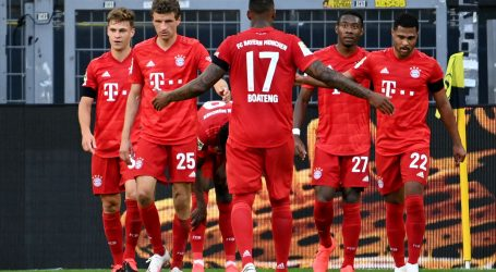 Bayern minimalnom pobjedom protiv Borussije povećao vodstvo na 64 boda