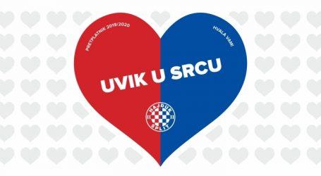 """Hajduk će se projektom """"Uvik u srcu"""" odužiti svojim pretplatnicima"""
