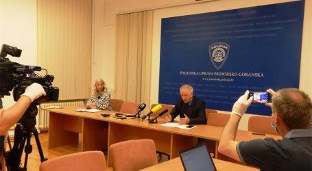 FOTO: Akcijom policije riješene serijske pljačke novčarskih institucija u Zagrebu, Rijeci i Umagu