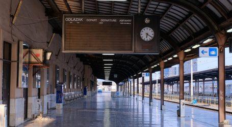 Zatvoren zagrebački Glavni kolodvor, vlakovi i dalje voze