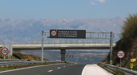 HAK: Zbog olujnog vjetra zatvorena autocesta između Sv. Roka i Maslenice