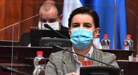 """BRNABIĆ: """"Srbija ispunila uvjete Svjetske zdravstvene organizacije za ukidanje izvanrednog stanja"""""""
