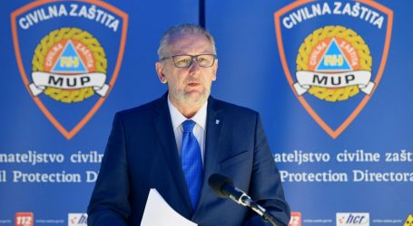 """Božinović: """"Situacija na Braču ne bi trebala utjecati na daljnju liberalizaciju mjera"""""""