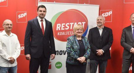 """HDZ O RESTART KOALICIJI: """"Potrošeni plagijatorski kvartet nudi restart Hrvatske. Ako je i od Bernardićeva SDP-a, previše je!"""""""