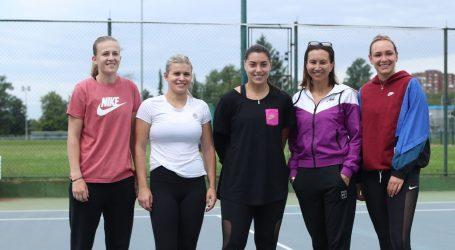 Hrvatska teniska Fed Cup reprezentacija vratila se treninzima