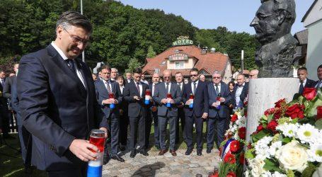 """PLENKOVIĆ: """"Uloga dr. Tuđmana u stvaranju hrvatske države ostaje trajna vrijednost"""""""
