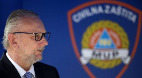 Nacionalni stožer civilne zaštite više neće imati konferencije svaki dan