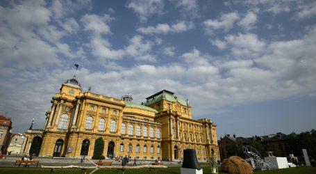 Zagrebački HNK nakon dva mjeseca otvara vrata posjetiteljima uz koncerte