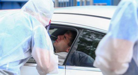 Dinamovci testiranje na koronavirus obavili na drive-in način