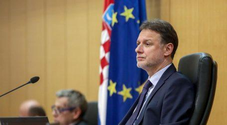 Jandroković i formalno zastupnicima predložio raspuštanje Sabora