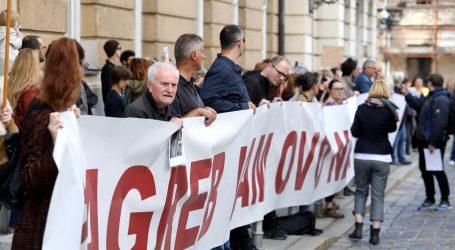 VIDEO: Prosvjednici pred Saborom, počelo je glasanje