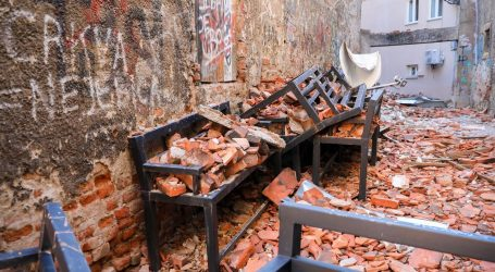 FOTO: Ovo je Cesarčeva ulica dva mjeseca nakon jakog potresa u Zagrebu