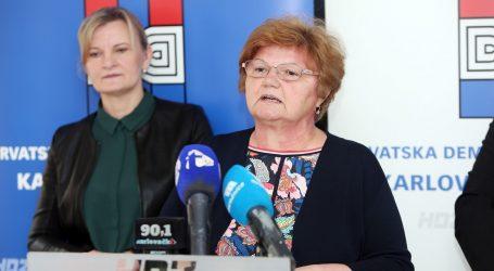 Među kandidatima HDZ-a iz VII. izborne jedinice Nada Murganić, Tomo Medved i Maja Grba Bujević