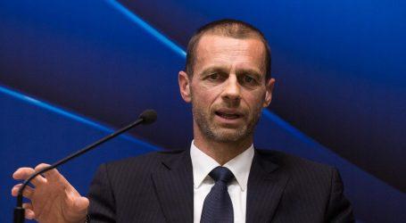 """ČEFERIN: """"UEFA će iz krize izaći kao pobjednik, vratit ćemo i publiku"""""""