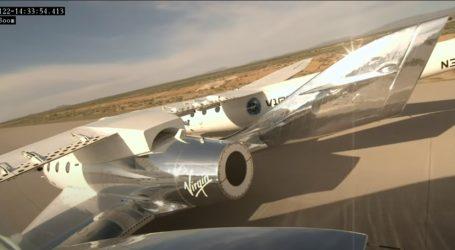 SpaceShipTwo u prvom letu iznad Novog Meksika