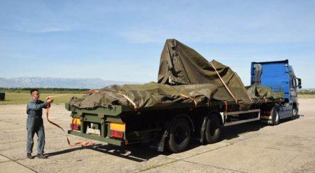 U Zemunik dopremljeni ostaci aviona ZLIN u kojem su poginuli vojni piloti