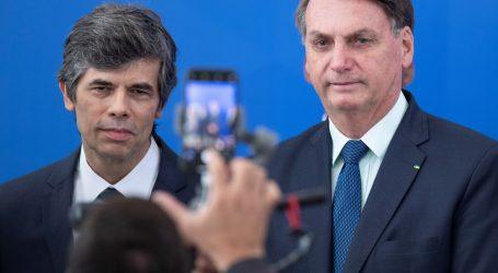 Novi brazilski ministar zdravstva podnio ostavku nakon samo dva tjedna