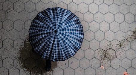 Oblačno s kišom, izdana upozorenja za cijelu zemlju