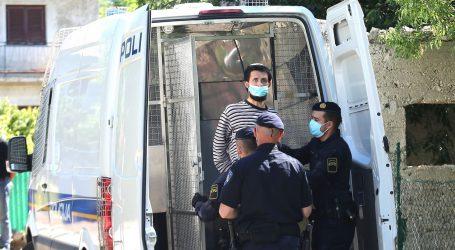 Osumnjičeni za ubojstvo na rekonstrukciji zločina u Gaćelezama