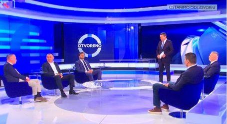 Svađa Grmoje i Lovrića, Ćorića i Vidovića, Togonal jedva držao uzde 'Otvorenog'