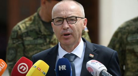 """Krstičević: """"Poduzete sve mjere zaštite od prodora covida-19 u obrambeni sustav"""""""